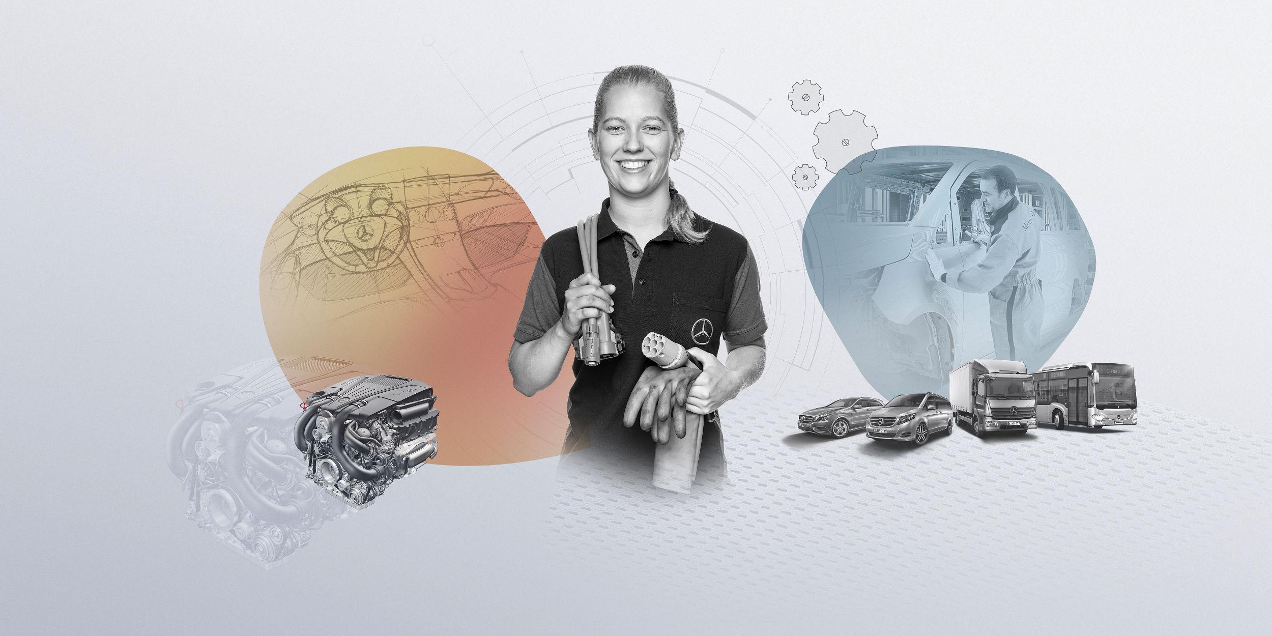Mitarbeiter Fotografie Stuttgart und Umgebung Mitarbeiterfotos Mitarbeiterportraits Azubi Portraits Mercedes Benz Untertürkheim