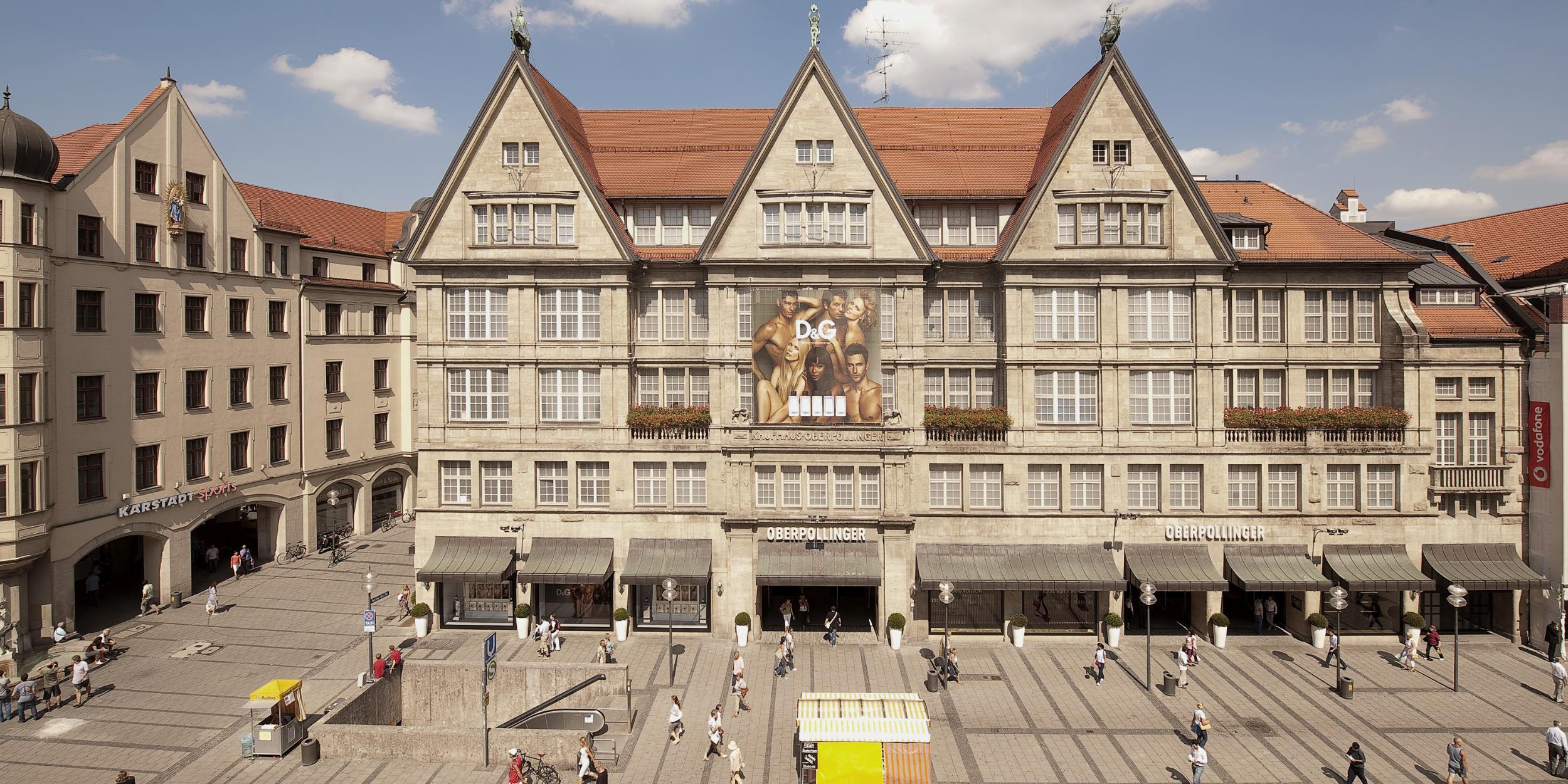 Architekturfotografie Stuttgart und Umgebung Dolce und Gabbana Oberpollinger München Aussenarchitektur Innenarchitektur richtige Zeit richtiger Ort