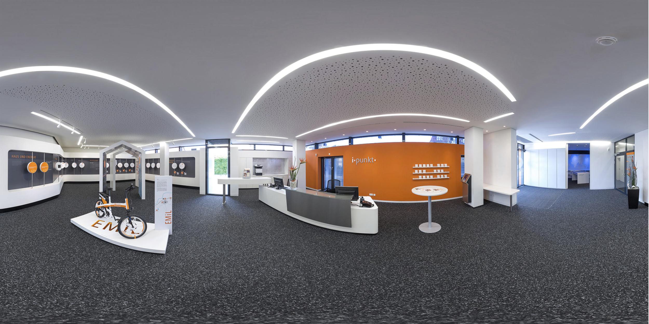 Architekturfotografie Stuttgart und Umgebung Energie Beratung's Zentrum Schorndorf Kommune Stadtliebe Werbung Energiewende richtige Zeit richtiger Ort