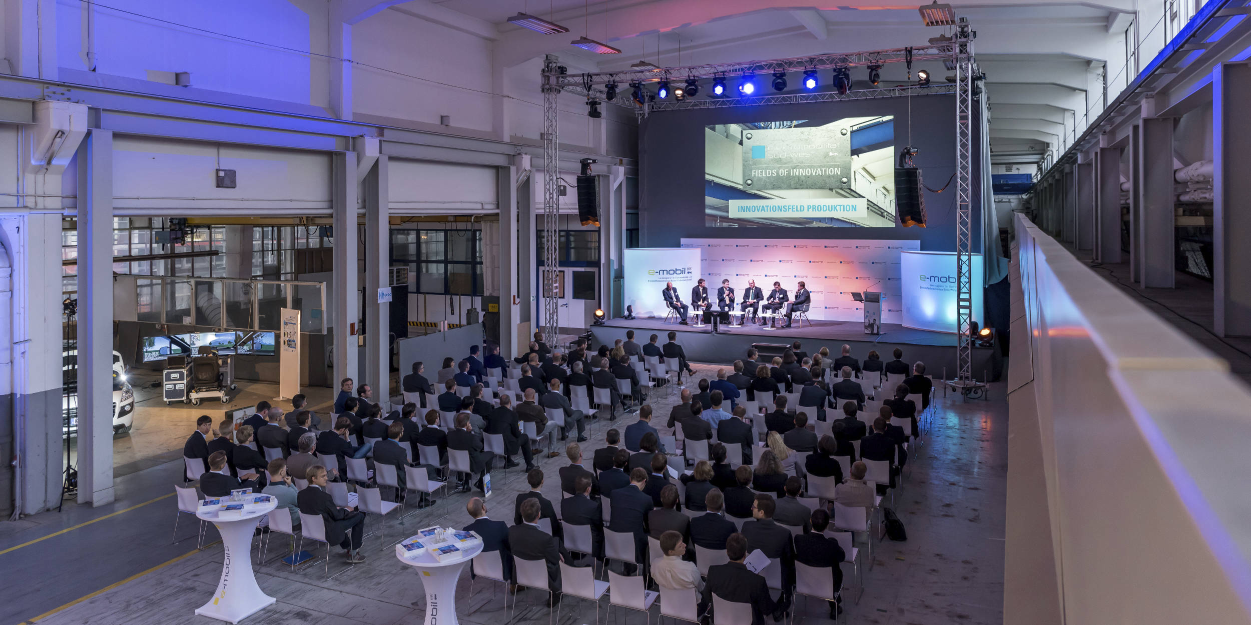Eventfotografie Stuttgart und Umgebung Fields Of Innovation e-mobil BW Innovations Messe Ludwigsburg E-Mobilität Elektro Autos Elektro