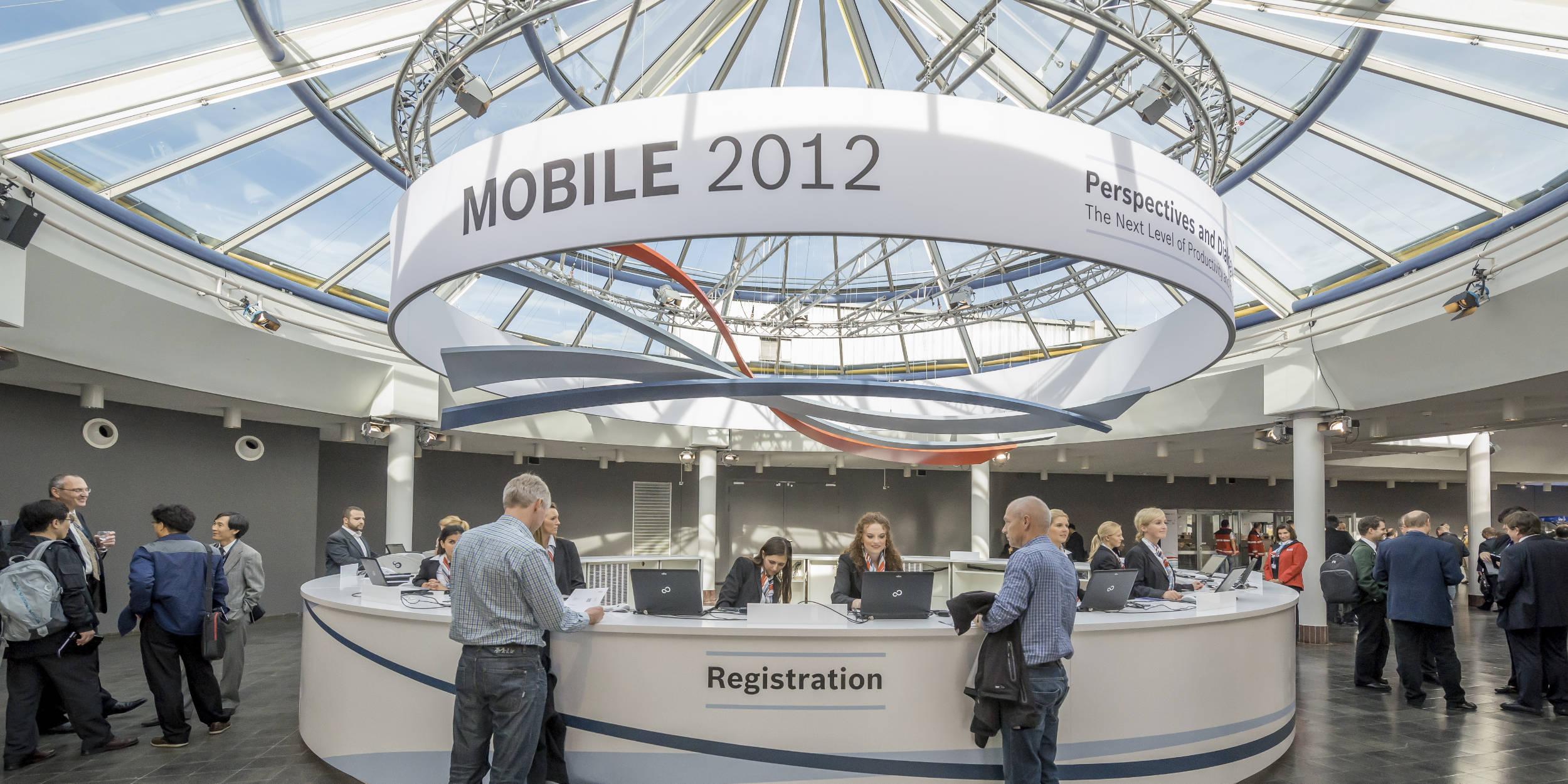 Eventfotografie Stuttgart und Umgebung BOSCH Rexroth Messebegleitung Messe Ulm Mobile 2012 Internationale Messe