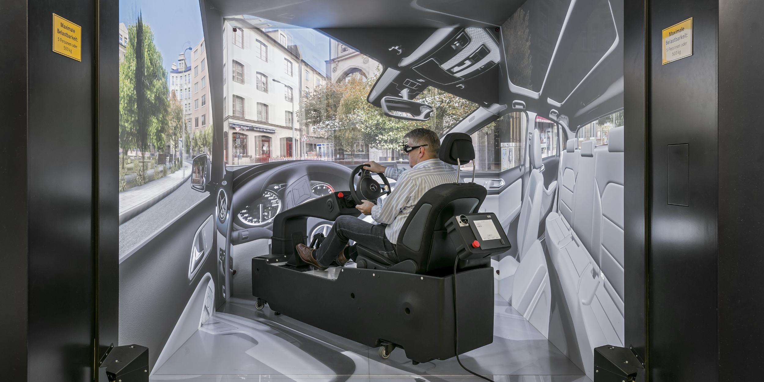 Industriefotografie Stuttgart und Umgebung VRC Sindelfingen Virtual Reality Autobau 3D Kommunikation Gestalte das morgen Präzision